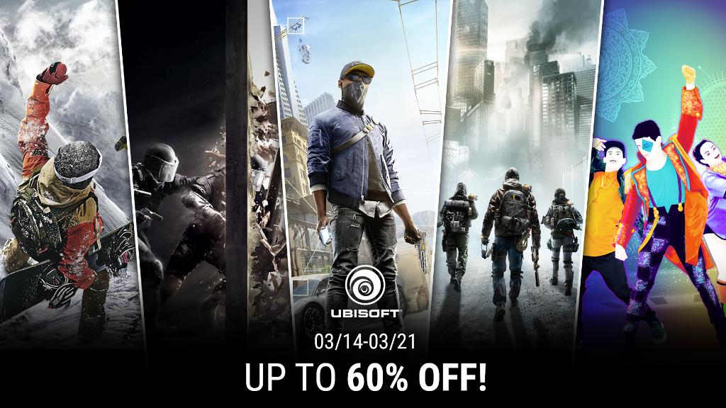 Xbox Live Game Deals: Ubisoft Publisher Sale [Digital] - Picture Credit: Ubisoft Entertainment via Twitter