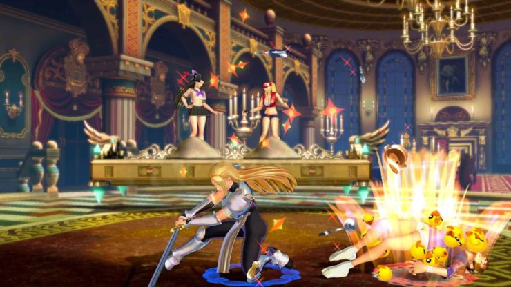 SNK HEROINES Tag Team Frenzy: Jeanne D'Arc and Skullomania review - Photo Credit: SNK / NIS America