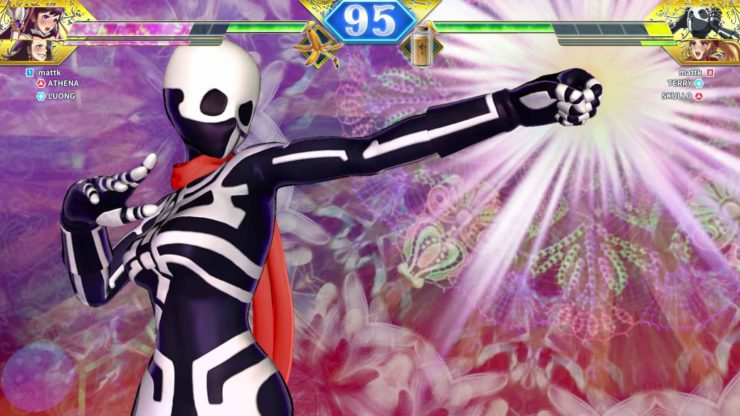 SNK HEROINES Tag Team Frenzy: Jeanne D'Arc and Skullomania review - Photo Credit: Arika / NIS America