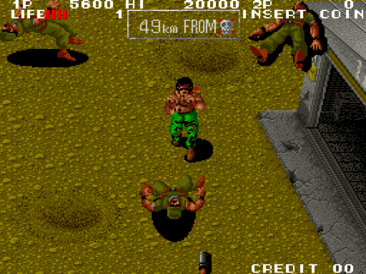 Ikari III - The Rescue (Arcade) 03 - Photo Credit: SNK via NIS America