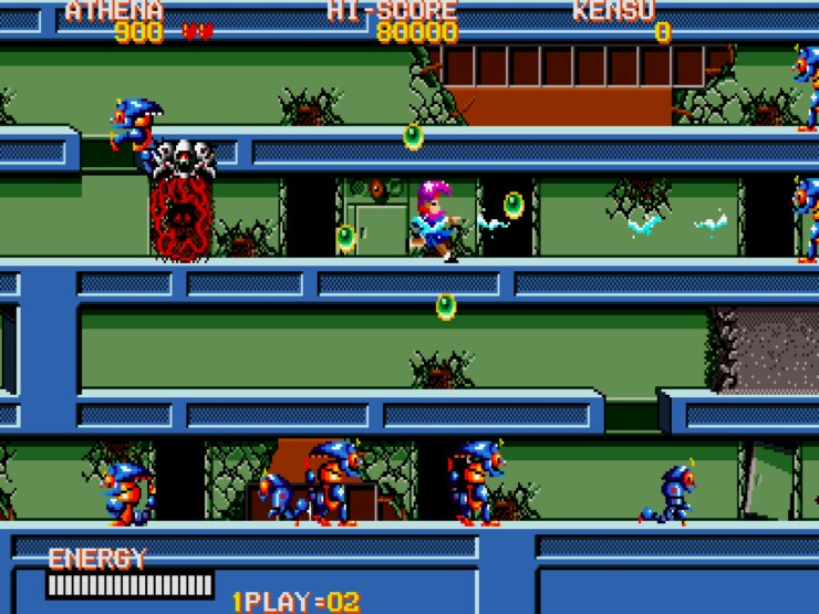 Psycho Soldier (Arcade) - Photo Credit: SNK via NIS America