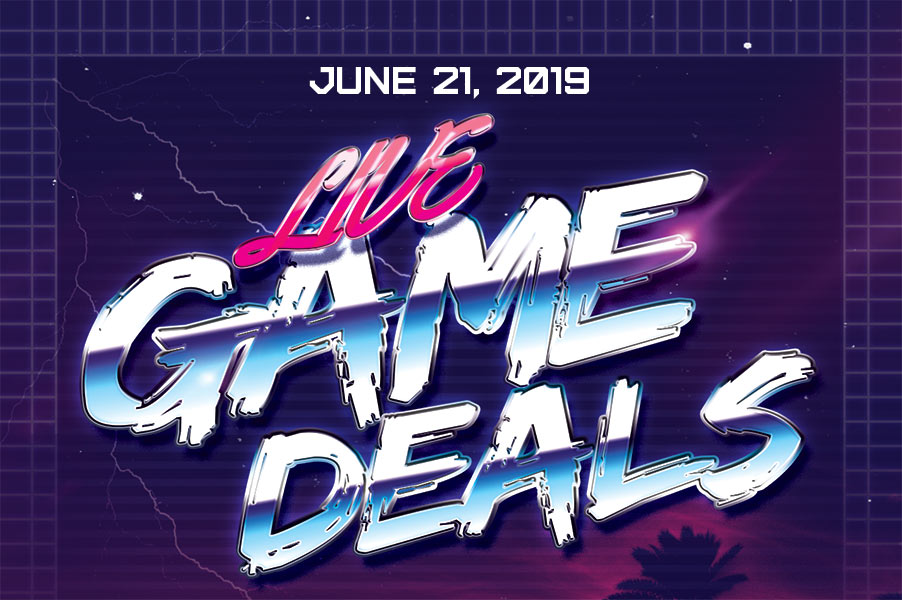 Video Game Deals for June 21, 2019 - Live Game Deals - Logo 1A