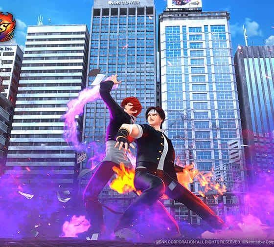 The King of Fighters ALLSTAR - Iori and Kyo - Art Credit: SNK Corporation / Netmarble Corp. & Netmarble Neo Inc.
