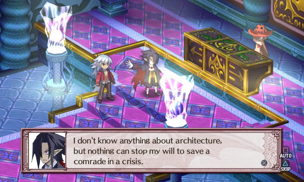 Disgaea 4 Complete+ Tyrant Valvatorez and Fenrich fight Minotrose in post-game chapter - Playstation 4 - Screenshot Credit: Nir Regev via NIS America / Nippon Ichi Software