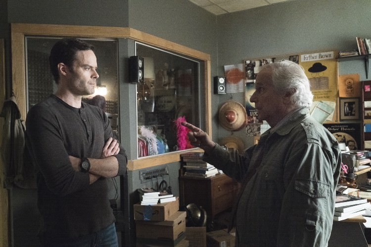 Barry Berkman 'Block' and Gene Cousineau - Pictured from left to right (L-R): Bill Hader and Henry Winkler - Photo Credit: Isabella Vosmikova/HBO