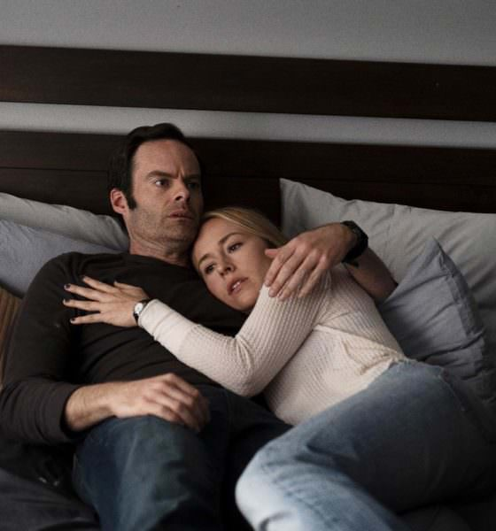 """Barry Berkman and Sally Reed in Season 2, Episode 3: """"Past = Present x Future Over Yesterday"""" - Pictured from left to right: Bill Hader and Sarah Goldberg - Photo Credit: Isabella Vosmikova / HBO"""
