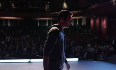 Barry Berkman Block walks off theatre stage - Pictured: Bill Hader - Screenshot / Photo Credit: HBO