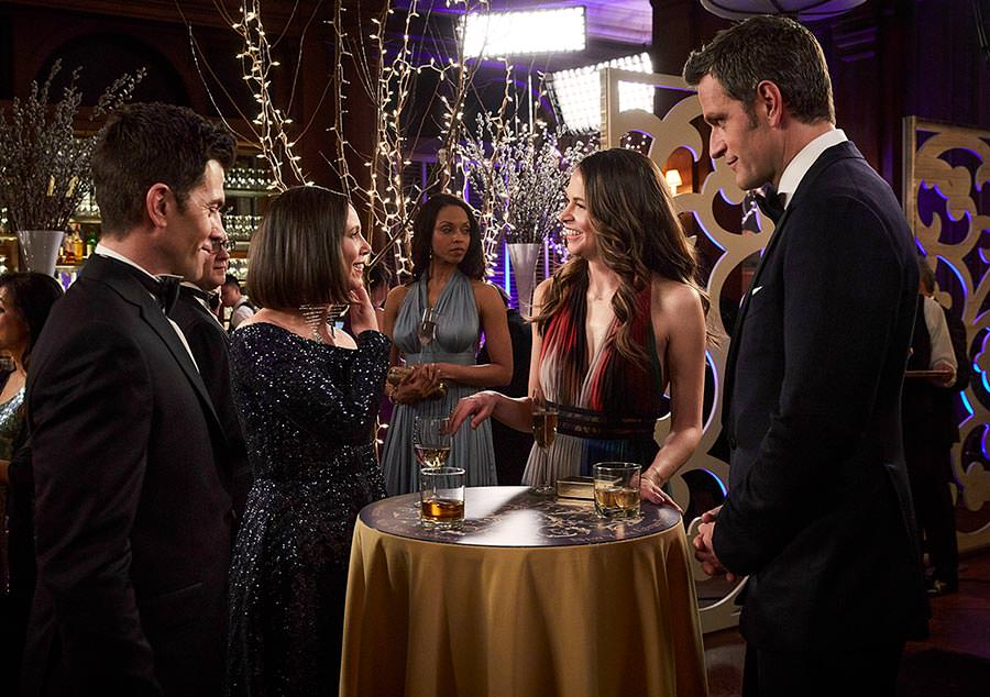 """Younger Season 6 Episode 2 recap """"Flush with Love"""" - Pictured from Left to Right: Chris Tardio as Enzo, Miriam Shor asDiana Trout, Sutton Foster as Liza Miller, and Peter Hermann as Charles Brooks - Photo Credit: TV Land"""