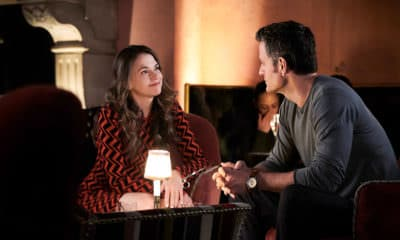 Younger Season 6 Episode 6 'Merger, She Wrote' - From left to right: Sutton Foster as Liza Miller and Peter Hermann as Charles Brooks - Photo Credit: TV Land