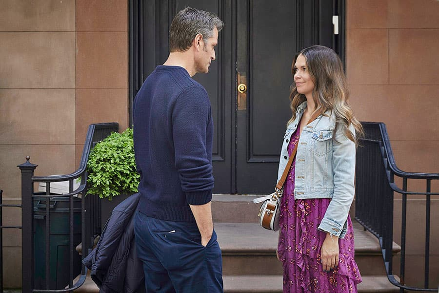 Younger Season 6 Episode 10 live stream: Watch TV Land online - Pictured from left to right: Peter Hermann as Charles Brooks and Sutton Foster as Liza Miller - Photo Credit: TV Land