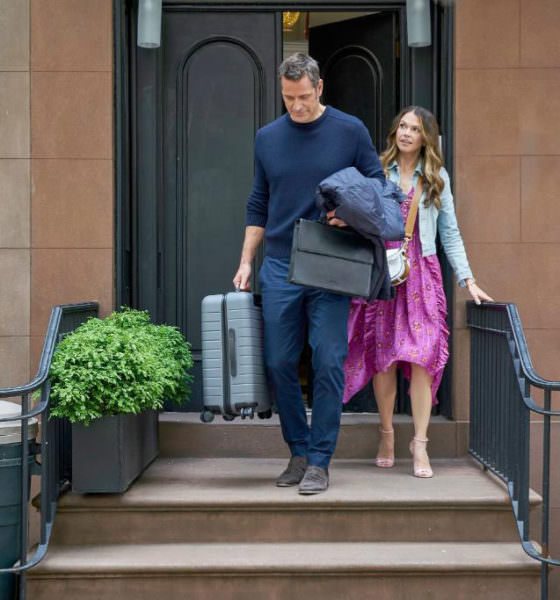 """Younger recap - Season 6 Episode 10 """"It's All About the Money, Honey"""" - Pictured from left to right: Peter Hermann as Charles Brooks and Sutton Foster as Liza Miller - Photo Credit: TV Land"""