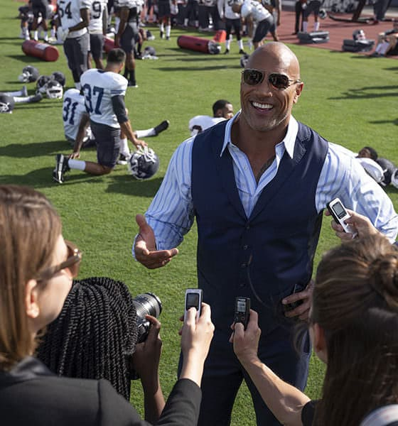 """Ballers on HBO Season 5, Episode 8 """"Players Only"""" - Dwayne Johnson as Spencer Strasmore - Photo Credit: Jeff Daly/HBO"""