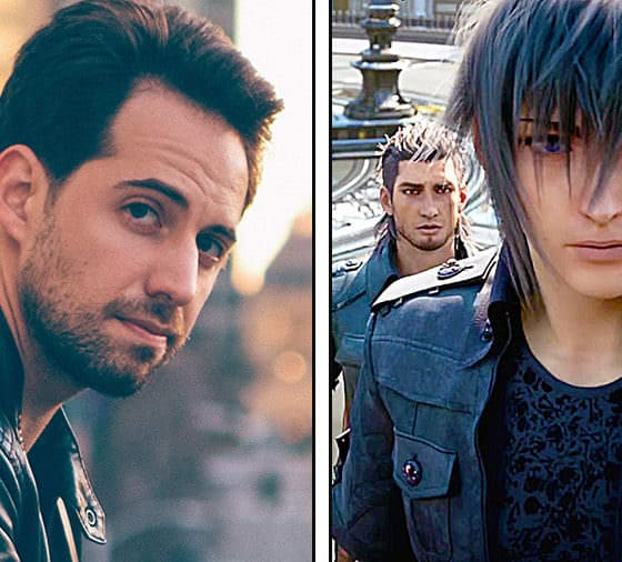 on right - Photo and Art Credit: Ray Chase / Square Enix