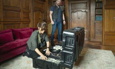 """THE PURGE -- """"House of Mirrors"""" Episode 205 -- Pictured: (l-r) Chelle Ramos as Sara Williams, Max Martini as Ryan Grant -- (Photo by: Alfonso Bresciani/USA Network)"""