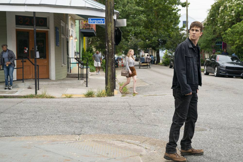 """THE PURGE -- """"Should I Stay Or Should I Go"""" Episode 207 -- Pictured: Joel Allen as Ben -- (Photo by: Alfonso Bresciani/USA Network)"""