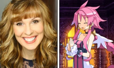 Anime NYC 2019 Interview - Pictured: Carrie Savage on left, Disgaea 4 Complete+'s Artina / Vulcanus on right - Photo and Art Credit: Carrie Savage / NIS America