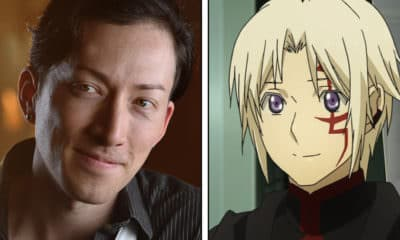Anime NYC 2019 Interview - Pictured: Todd Haberkorn on left, D.Gray-man's Allen Walker on right - Photo and Art Credit: Todd Haberkorn / Funimation