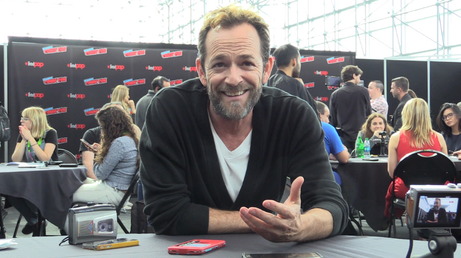 Luke Perry talks love of acting, Riverdale, Fredericktown Tomato Show (Interview)