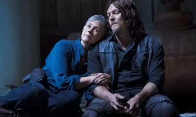 Carol and Daryl (Caryl) - Pictured: Melissa McBride as Carol Peletier and Norman Reedus as Daryl Dixon on The Walking Dead - Photo Credit: Jackson Lee Davis / AMC