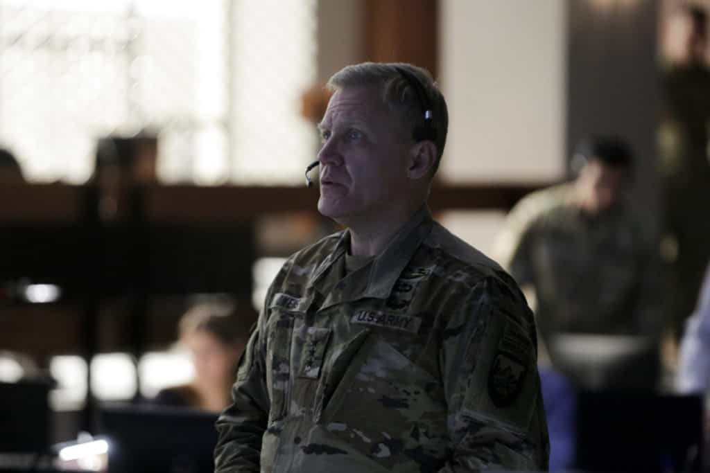 """Terry Serpico as General Owens in HOMELAND, """"Chalk Two Down"""". Photo Credit: Sifeddine Elamine/SHOWTIME."""