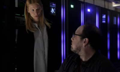 "Homeland Season 8 Episode 6 Recap - (L-R): Claire Danes as Carrie Mathison and Austin Basis as Lonnie in HOMELAND, ""Two Minutes"". Photo Credit: Sifeddine Elamine/SHOWTIME."