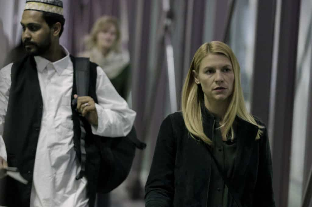 """Claire Danes as Carrie Mathison in HOMELAND, """"Two Minutes"""". Photo Credit: Sifeddine Elamine/SHOWTIME."""