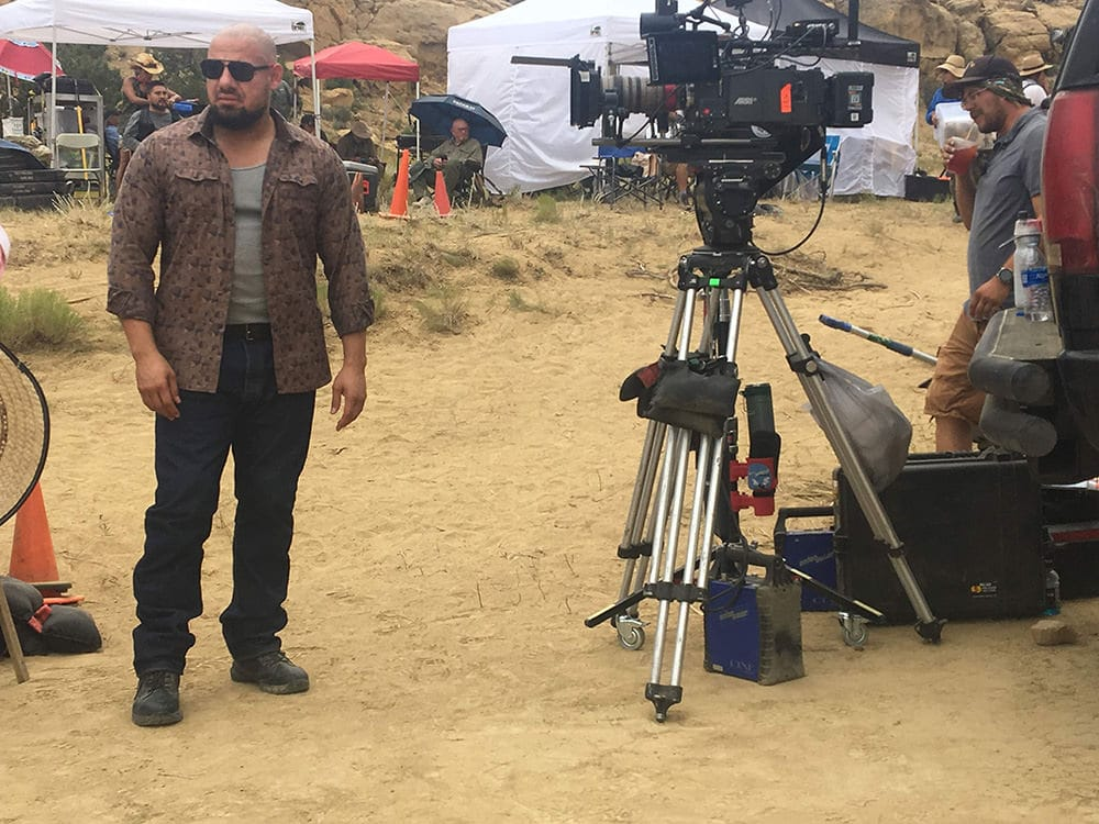 """Gabriel 'G-Rod' Rodriguez - Behind the Scenes Shot on Better Call Saul's """"Bagman"""" - Photo provided by Gabriel 'G-Rod' Rodriguez"""