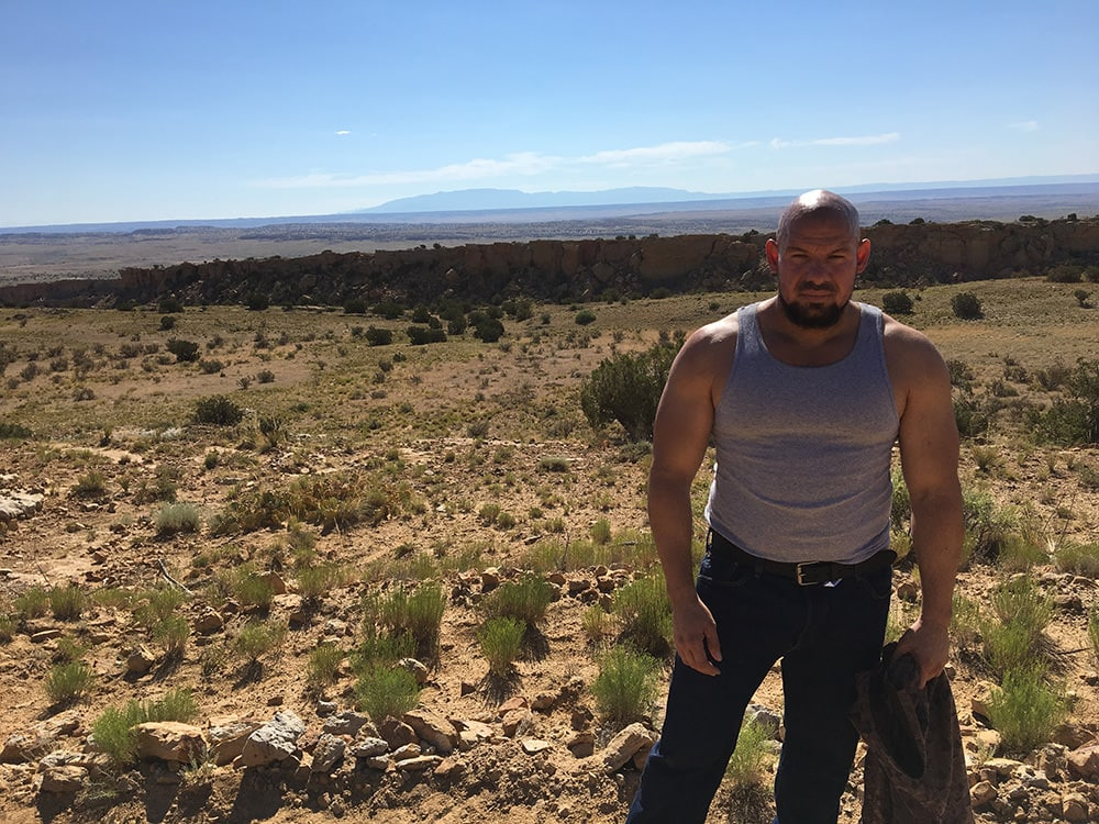 """Gabriel 'G-Rod' Rodriguez - Behind the Scenes on Better Call Saul's """"Bagman"""" - Photo provided by Gabriel 'G-Rod' Rodriguez"""