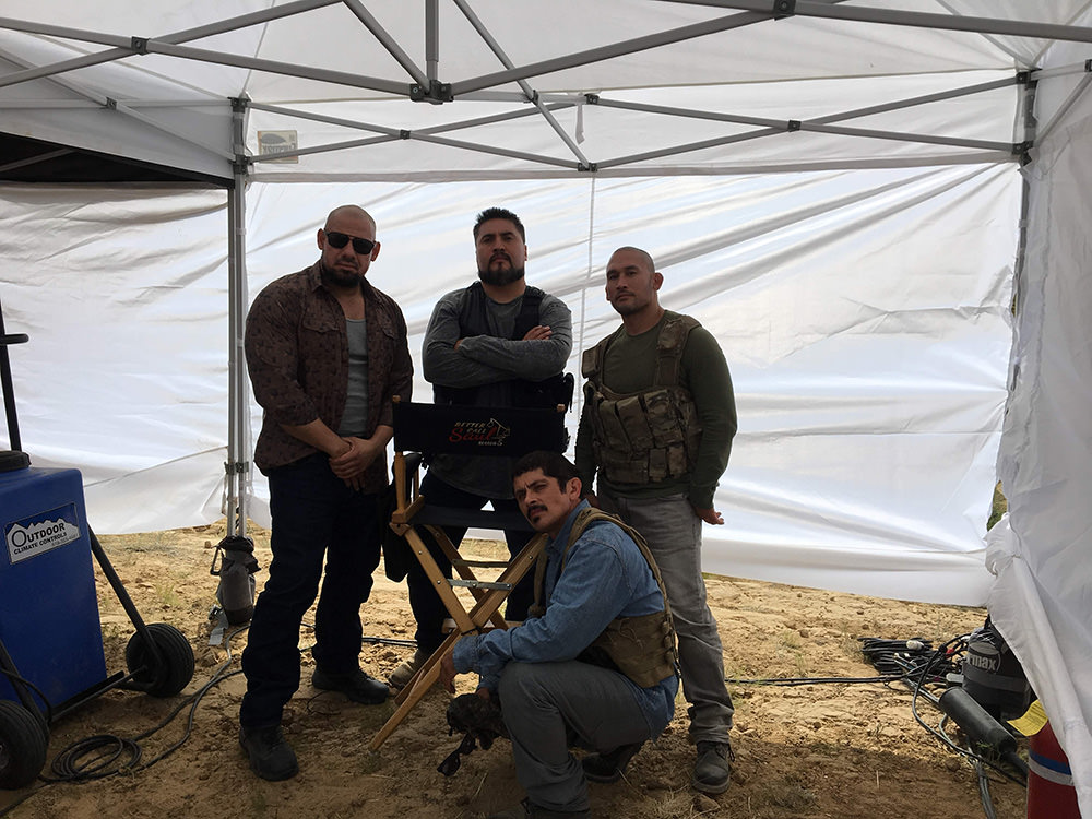 """Behind the Scenes Shot of El Jefe's Crew on Better Call Saul's """"Bagman"""" - Photo provided by Gabriel 'G-Rod' Rodriguez"""