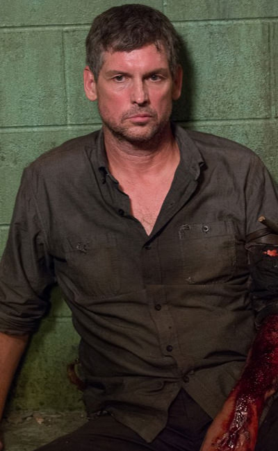 Donnie [Rus Blackwell] - Season 6, Episode 13 of The Walking Dead - (Cropped) - Original Photo Credit: Gene Page/AMC