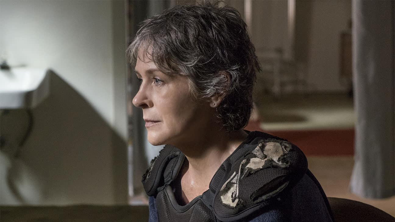 Melissa McBride as Carol Peletier - The Walking Dead _ Season 8, Episode 13 - Photo Credit: Gene Page/AMC
