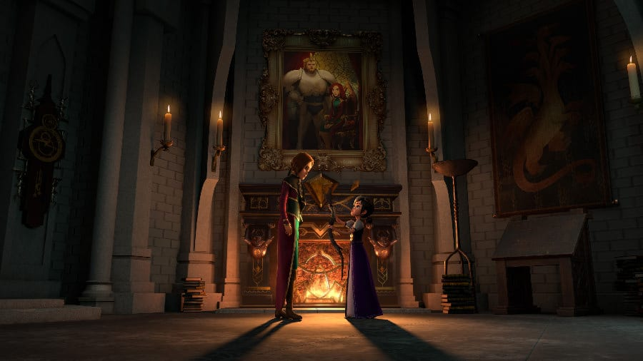 Morgana and Claire in Wizards: Tales of Arcadia - Photo Credit: Netflix / Dreamworks