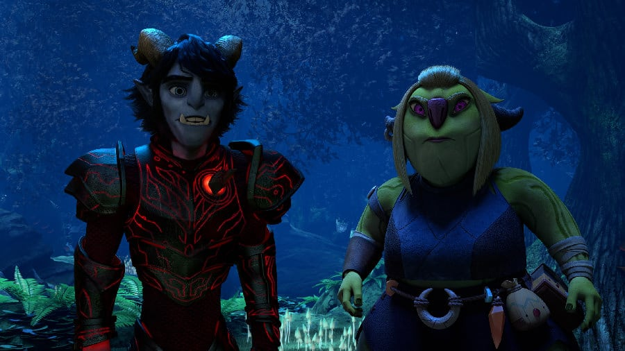 Jim and Callista in Wizards: Tales of Arcadia - Photo Credit: Netflix / Dreamworks
