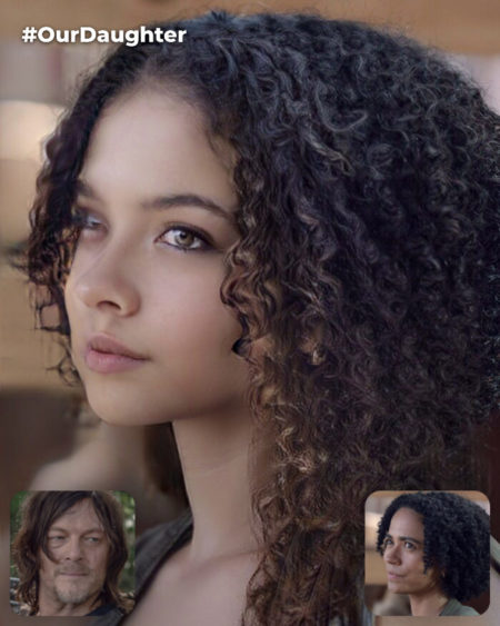 Daryl Dixon and Connie's Fictional Daughter (Connie is Dominant Side) [*Non-Canon]