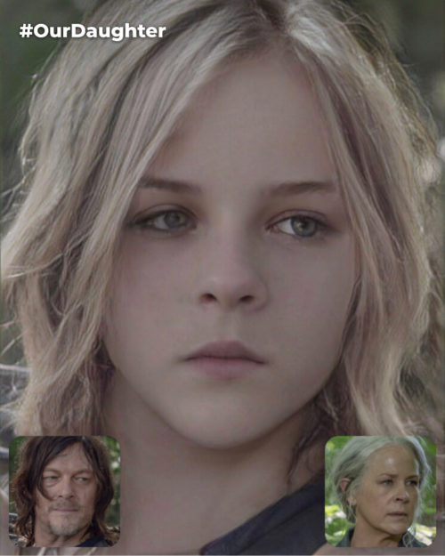 Daryl Dixon and Carol Peletier's Fictional Daughter (Daryl Dixon is Dominant Side) [*Non-Canon]