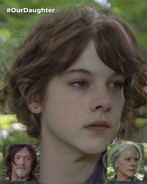 Carol Peletier and Daryl Dixon's Fictional Daughter (Carol is Dominant Side) [*Non-Canon]