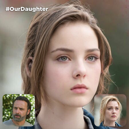 Rick Grimes & Jessie Anderson's Fictional Daughter (Jessie Anderson is Dominant Side) [Non-Canon]