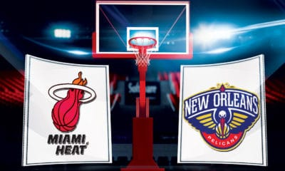 NBA TV Live Stream. How to watch the Miami Heat vs the New Orleans Pelicans - Team Logos Credit: NBA