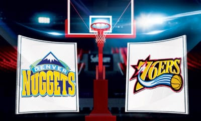 NBA TV Live Stream. How to watch the Nuggets vs the 76ers - Team Logos Credit: NBA
