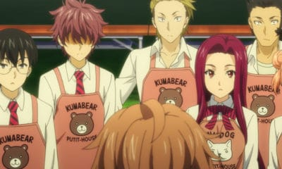 Food Wars! Season 3 live stream - Screenshot via VRV's HIDIVE Channel