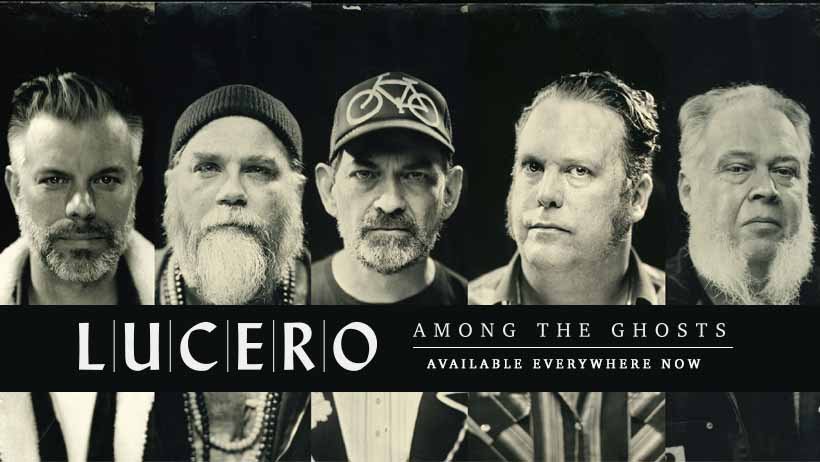 Lucero Promo Shot for 'Among The Ghosts' Record
