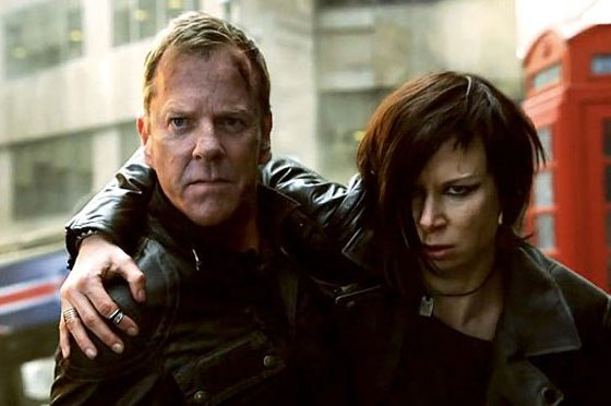 Jack Bauer and Chloe O'Brian in 24: Live Another Day - Photo via FOX