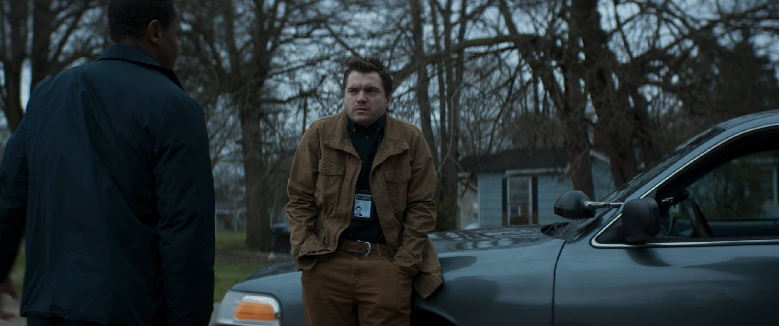Emile Hirsch as Paul in the horror film SON, a RLJE Films/Shudder release. Photo courtesy of RLJE Films and Shudder.